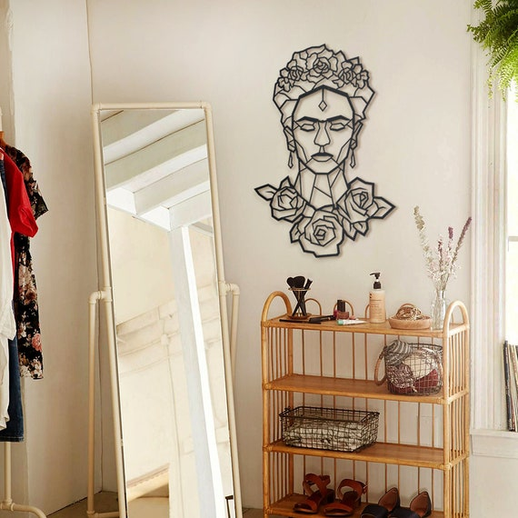 Frida Metal Wall Art , Best Gift for Art Lover