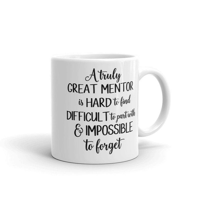 Gift For Mentor Mug For Mentor Mentor Mug A Truly Great | Etsy