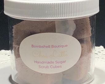 Chai Latte Sugar Scrub Cubes
