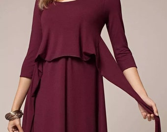 9b3530f5fb7 Nursing Dress for pregnant women and nursing (breastfeeding) moms