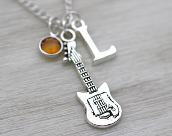 Guitar Necklace Etsy