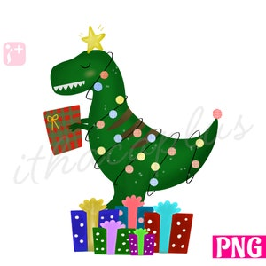 Navidad Dinosaurio Png Archivos Para La Sublimacion Navidad Etsy Baby shark y la unicornio pillan a papá noel en los juegos de navidad de año nuevo para niños. navidad dinosaurio png archivos para la