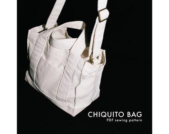 Chiquito Bag PDF SEWING PATTERN  (English version)