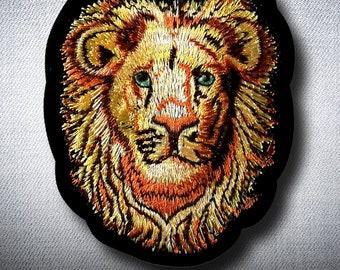 884d2aaf Lion Jamaican Judah Patch Iron on DIY Clothes Jacket Vest Coat Cap Hood  Shirt Tank Jean Denim Bag Bob Marley Reggae Music Song Army Hippie