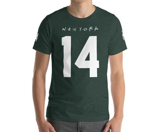 ced929565 Sam Darnold New York Jets Rookie Rep Yo City Tee (Size S