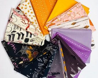 Spooky Sweet Fat Quarter Bundle, Half Yard Bundle By AGF Studio for Art Gallery Fabrics