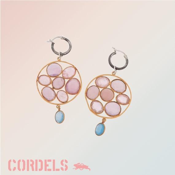 Mitsu earpendants (pair)