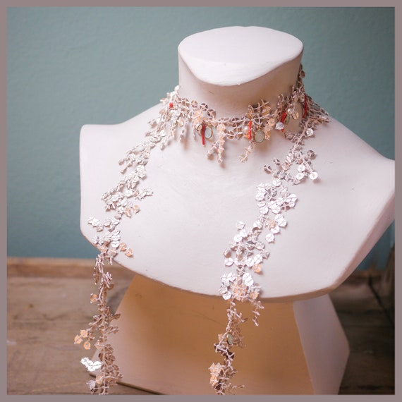 Noble bridal necklace for a mermaid-Arielle