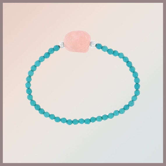 Candy Rose Turquoise Bracelet