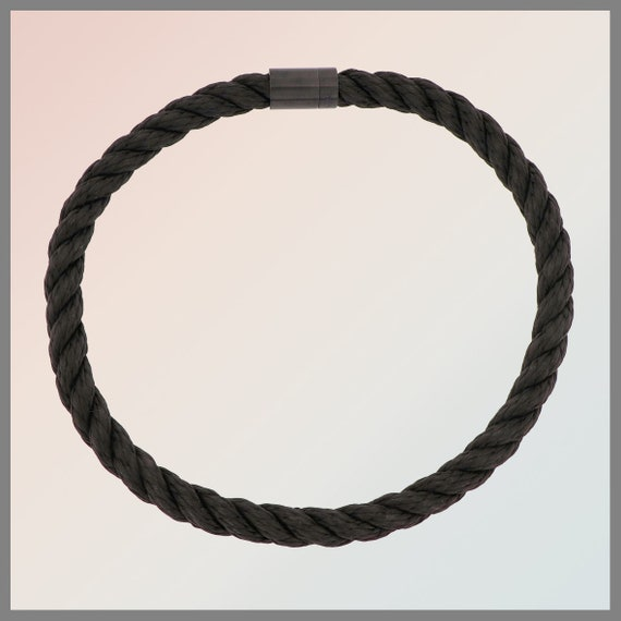 Necklace rope Black Mamba