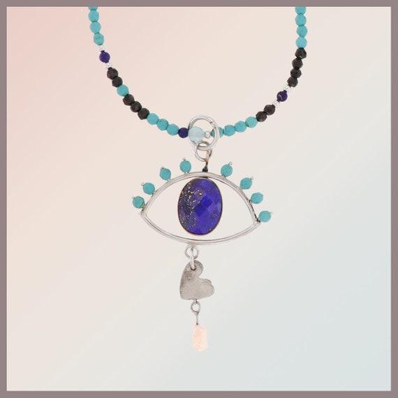 Leila's Eye Treasure Piece Pendant