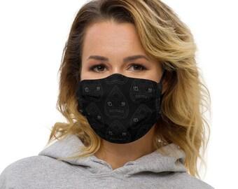 Reusable Face Mask | Planchette Face Mask | Ouija Face Mask | Adjustable Face Mask | Filter Pocket Face Mask