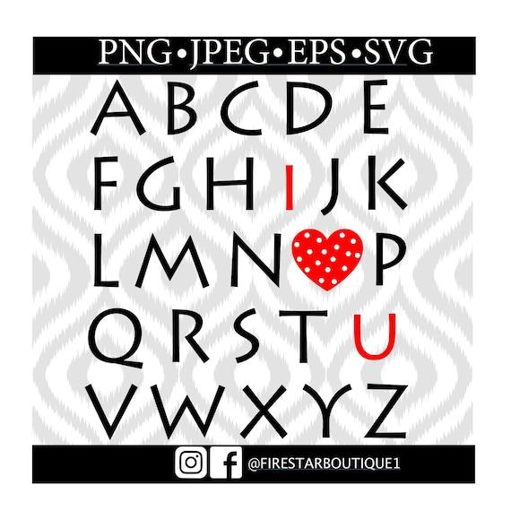 i love you Typewriter Download Digital Stencil SVG EPS PNG