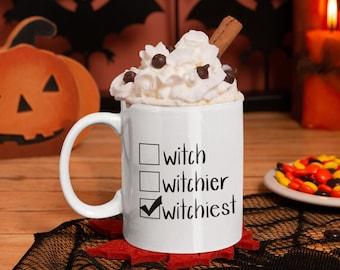 Witchiest Coffee Mug - Halloween Gift - Witch Coffee Mug for Halloween
