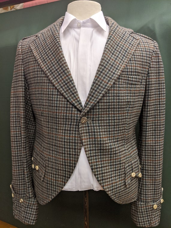 Gents Tweed argyle Jacket