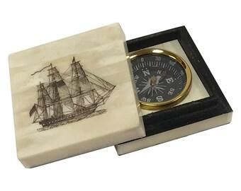 Ship S Compass Box Etsy
