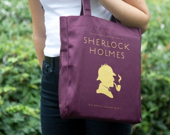 No shit Sherlock tote bag is a funny Sherlock Holmes gift for every Sherlock Holmes bbc lover or Sir Arthur Conan Doyle fan