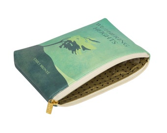 Card Purse Book Coin Purse Alice/'s Adventures in Wonderland Original Turquoise Book Lovers Gift Cardholder Lewis Carroll Card Holder