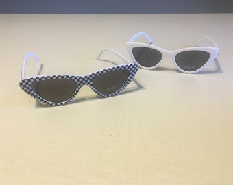 395e2d814ff3 Checkered White Sunnies