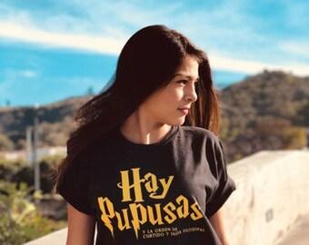 d82a50ba53bff Make Pupusas Not War T-Shirt | Etsy