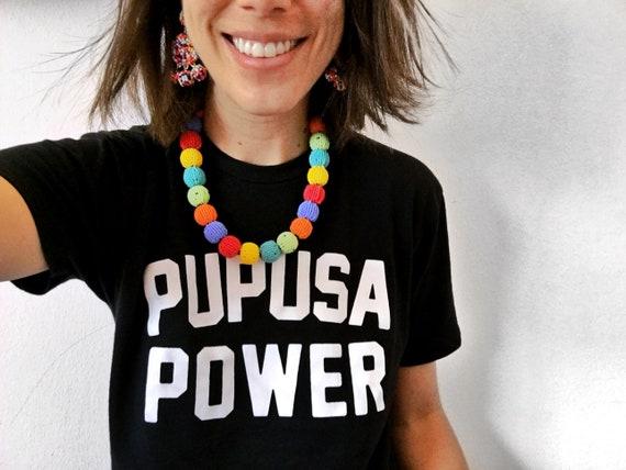 8138302e2b07e Pupusa Power T-Shirt