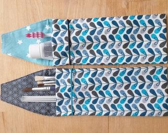 Toothbrush bag, toothbrush case, coated cotton utensilo