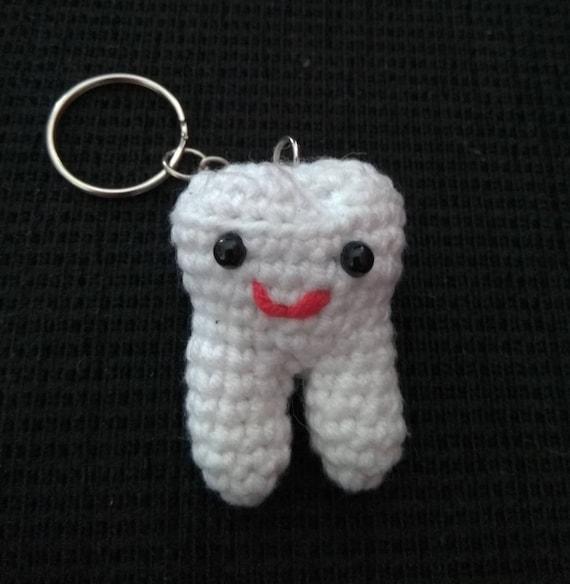 Crochet Amigurumi Tooth Pattern | Crochet amigurumi, Amigurumi ... | 584x570