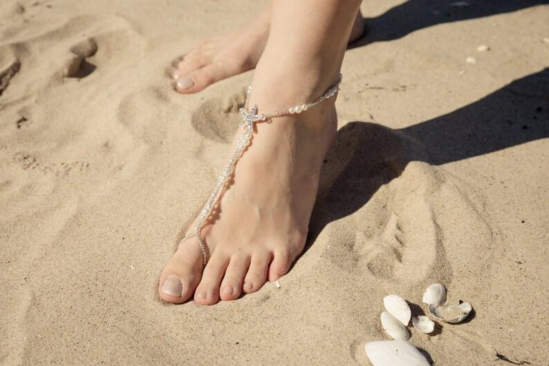 Barefoot Sandal Wedding Starfish image 0