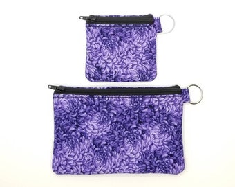 RFID, EMF Shielding Homeopathic Remedy Storage Purses Small and Medium Sizes (Purple and Black), RFID Credit Card Protection Purse