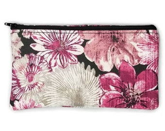 RFID, EMF Shielding Homeopathic Remedy Large Storage Purse holds Helios or OHM Kit, Credit Card Protection Purse (Floral Pattern)