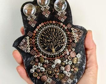 Hamsa Hand Mosaics