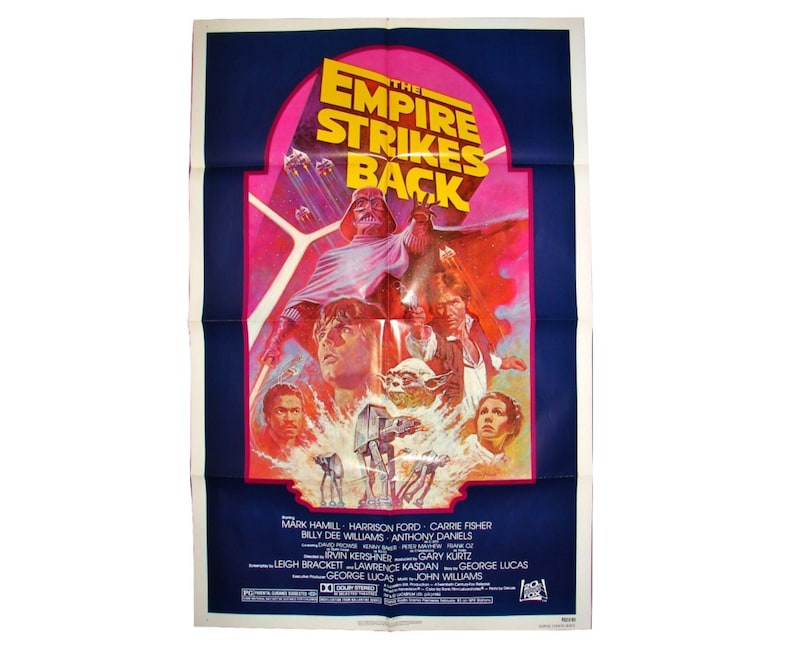 The EMPIRE STRIKES BACK Movie Poster R820180 27x41 1982 Star image 0