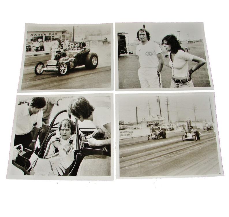 1974 Movie FUNNY CAR SUMMER 8x10 Press Photos  4 Photos Jim image 0
