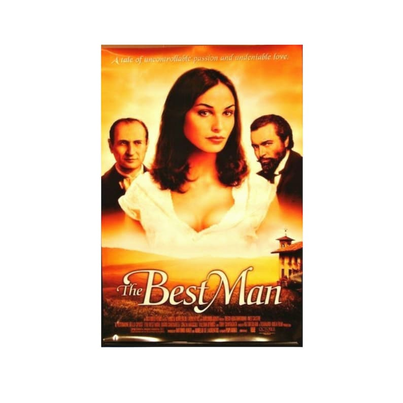 Original 1997 THE BEST MAN Movie P0STER 27x40 Single Sided image 0