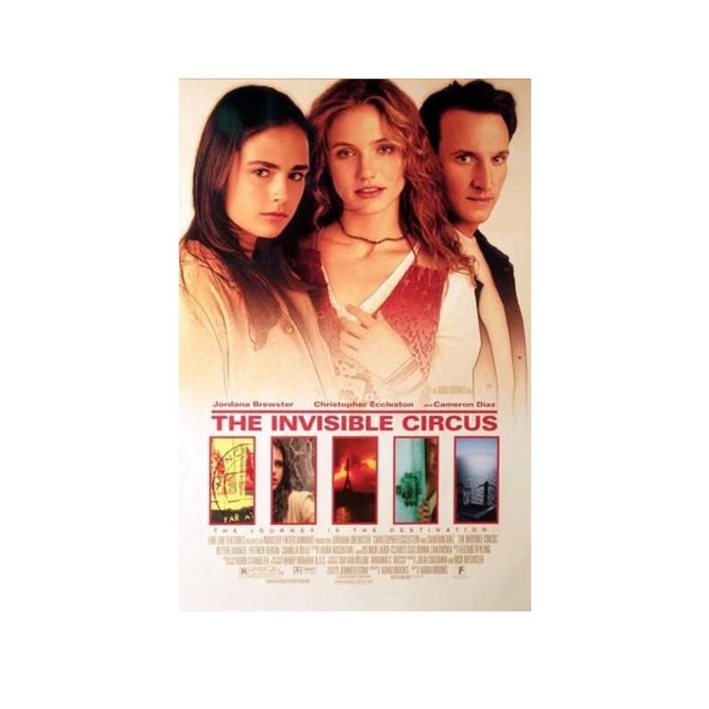 Original 1999 THE INVISIBLE CIRCUS Movie P0STER 27x40 image 0