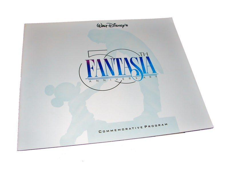 1990 FANTASIA 50th Anniversary Walt Disney Movie Commemorative image 0