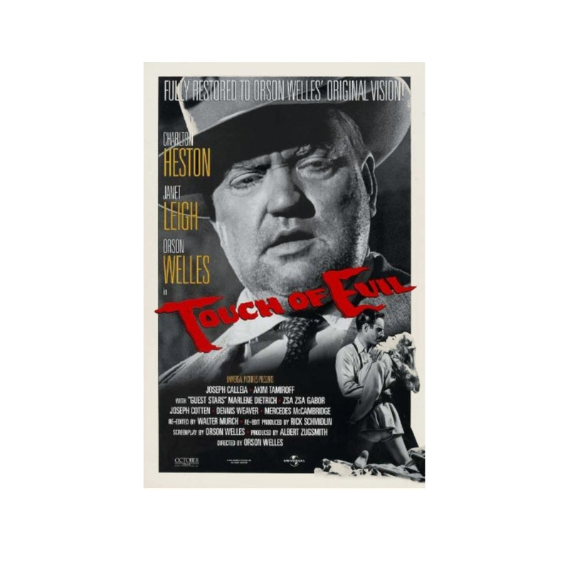 Original 1998 TOUCH OF EVIL Movie P0STER 27x40 40th image 0