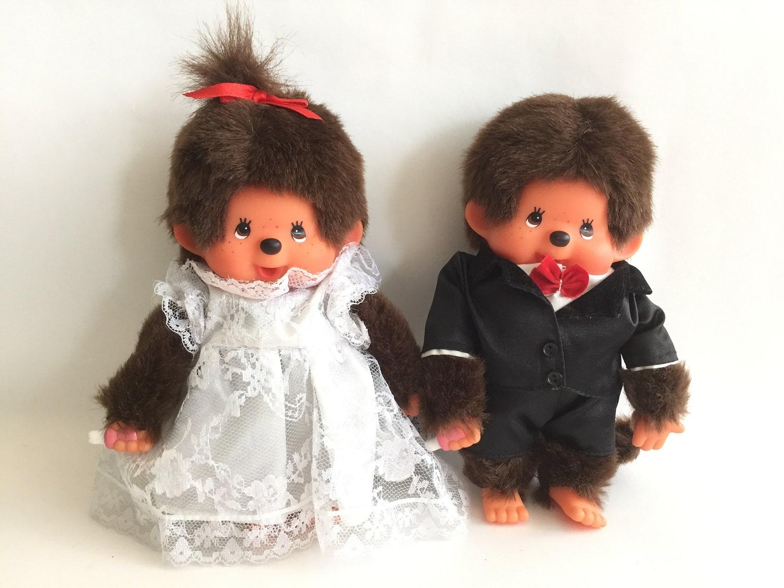 Monchhichi | Sekiguchi | 18cm | Wedding | Great Condition | Vintage Toy