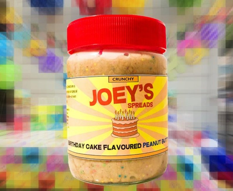 Joeys Spreads Birthday Cake Flavoured Peanut Butter