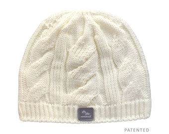 773a460140a Peekaboos® Ponytail Hat Beanie - Natural (ivory) - Adult Misses