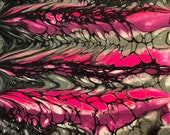 "Fluid Acrylic Pour Painting - ""Pink Confection"""