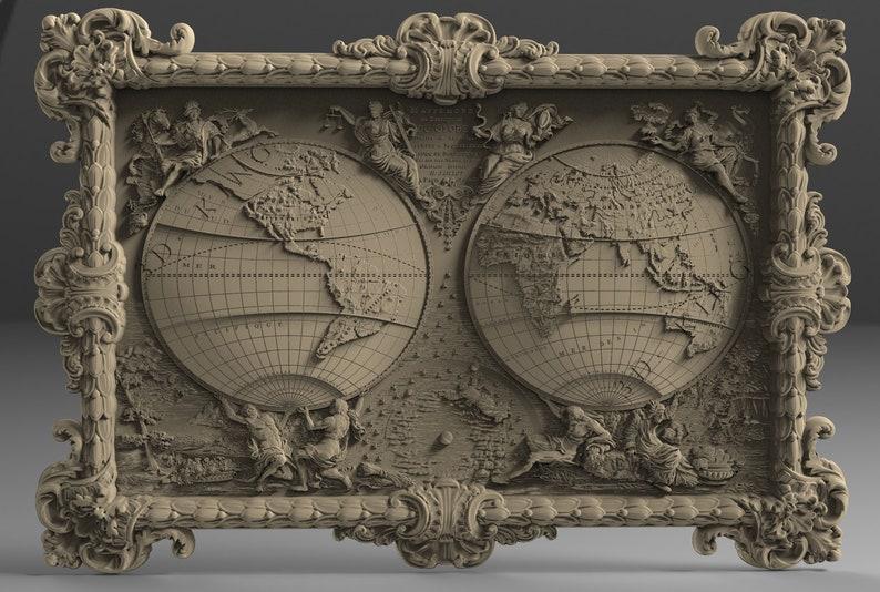 3D STL Model # THE DRAGON # for CNC Aspire Artcam 3D Printer 3D MAX Rhino