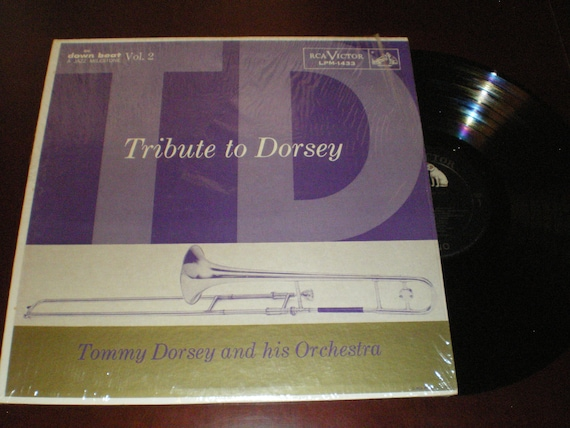 Tribute to Dorsey Volume 2-Tommy Dorsey and His Orchestra LPM 1432-LP Exc  1957