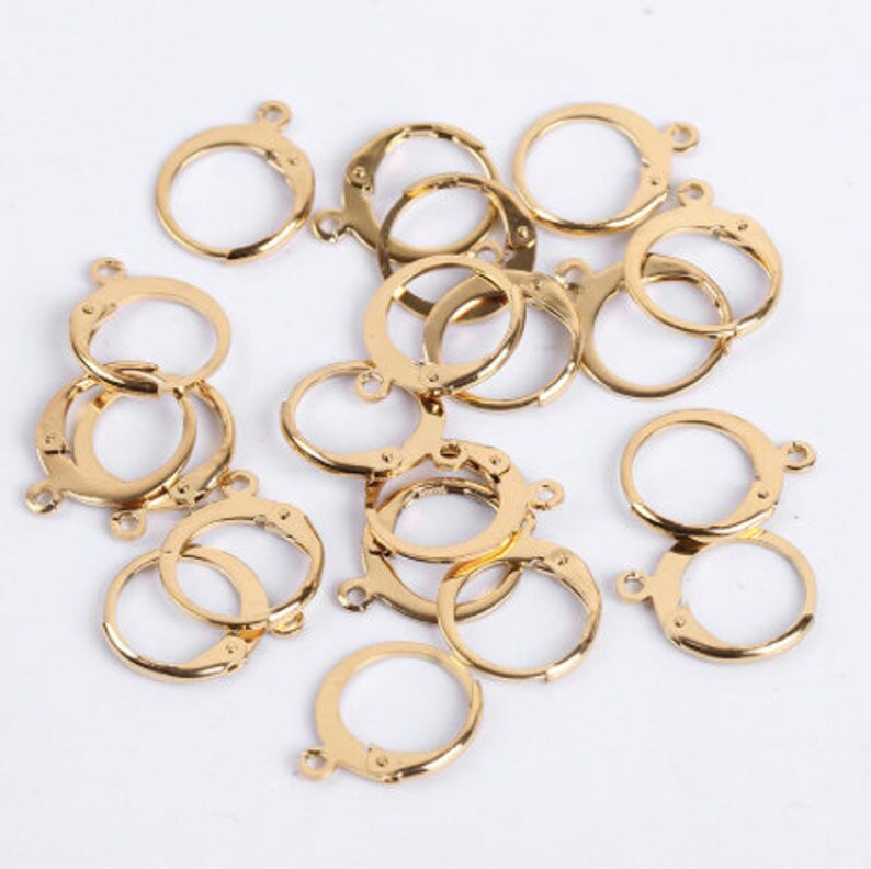 12 mm 925 sterling silver gold silver argent hook hook Earring Hooks Clasp accessories jewelry making wholesale parts 10 Pcs 14