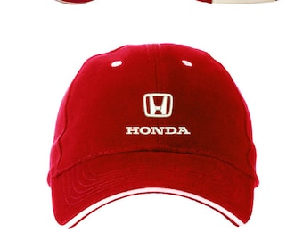 a776710c103 Honda Baseball cap Embroidered hat unisex Auto Logo car