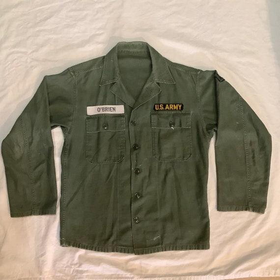 Vintage OG 107 Korean war size M O'Brien