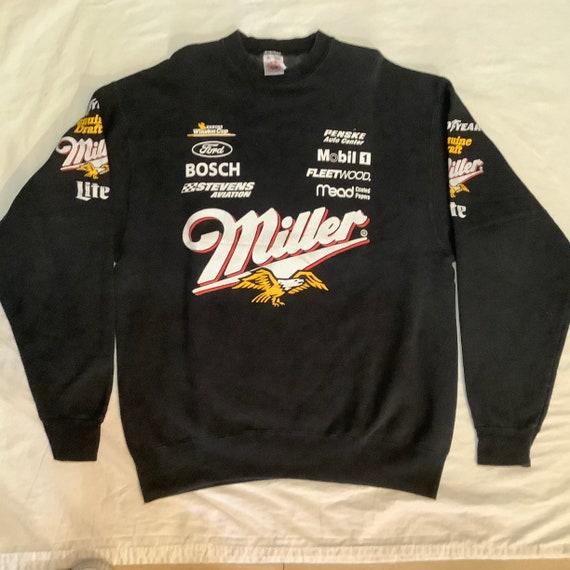 Vintage Miller NASCAR sweat-shirt XL