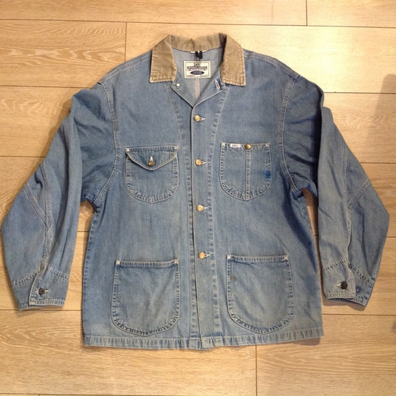 Vintage Lee denim workwear jacket