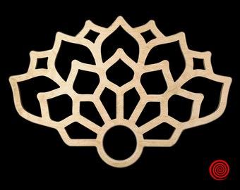 Leaf wooden flow fans with Russian grip. Spinning fans, flow toys, Fire Fans, Street Performance Skill Fans, Flow Art