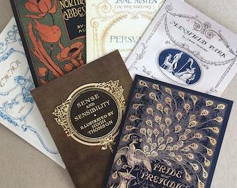 Jane Austen vintage book cover Greetings Card